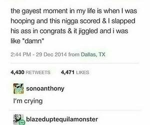 ass, crazy, and gay image