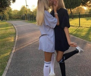 adidas, lisaandlena, and twins image