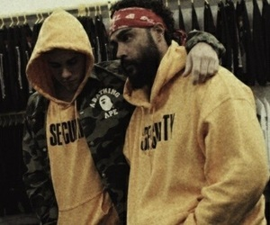 justin bieber, yellow, and boy image