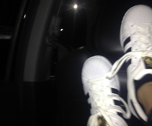 adidas, white, and young image