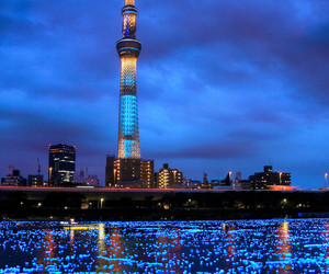 city, japan, and tokyo image