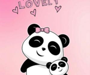 wallpaper, cute, and panditas image