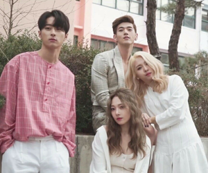 somin, kard, and kpop image