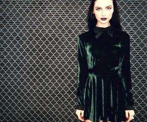 black, dress, and purple image