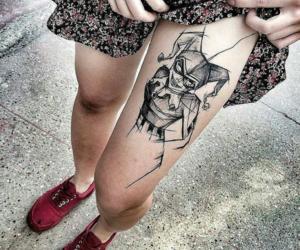 tattoo and joker image
