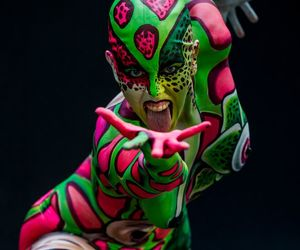 art and bodypainting image