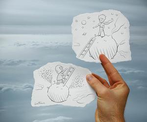 drawing, art, and boy image