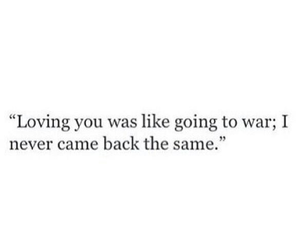love, quotes, and war image