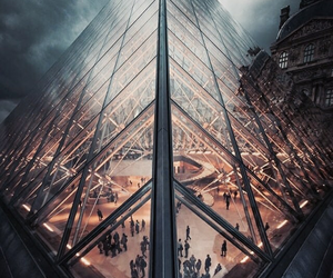 louvre, paris, and place image