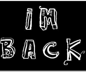 back, weheartit, and i'm back image