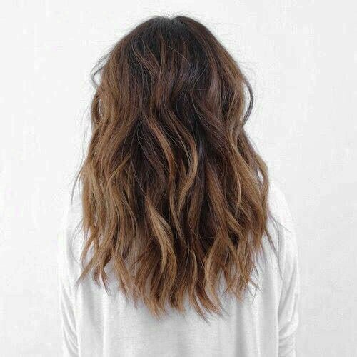 aesthetic, brunette, and hair image