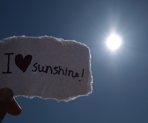 sun, love, and sunshine image