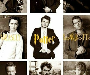 harry potter, boys, and draco malfoy image