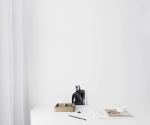 calm, home, and white image