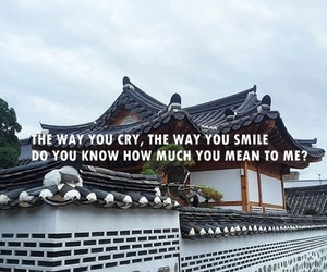 aesthetic, asia, and Lyrics image