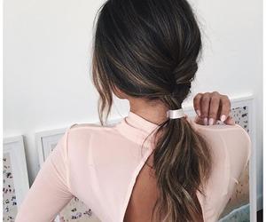 boho, dress, and hair image