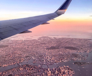 travel, city, and sky image