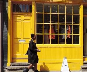yellow, aesthetic, and theme image