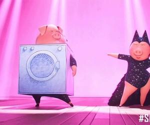 disney, movie, and pig image