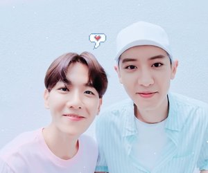 chanbaek, baekhyun, and exo image