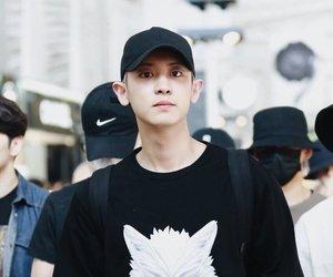 exo, chanyeol, and cute image