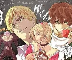 anime, death note, and hetalia image