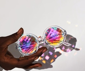 glasses, sunglasses, and colors image