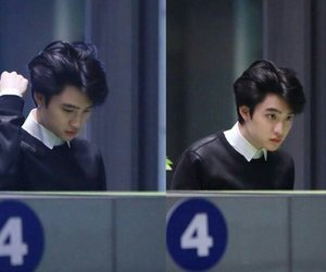 exo, kyungsoo, and cute image