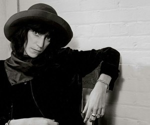 photography, black and white, and Patti Smith image