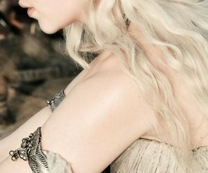 beautiful, silver hair, and game of thrones image