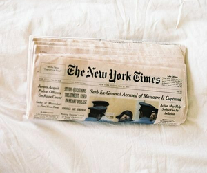 newspaper, new york, and vintage image