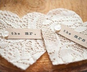love, heart, and lace image