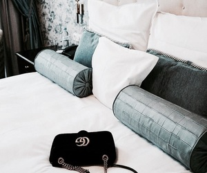 decoration, bed, and fashion image