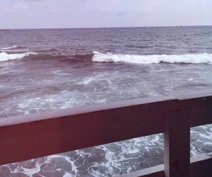 sea, sky, and water image