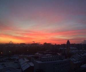 sky, sunshine, and sunsets image