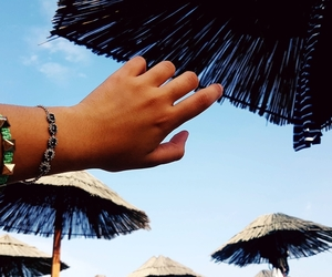 beach, summer, and bracelets image