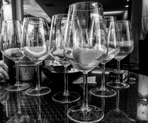 black&white, prosecco, and black&whithephotography image