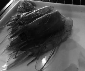 black&white, raw fish, and myphoto image
