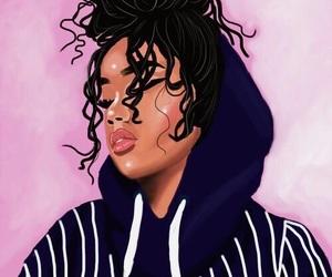 black, black girl magic, and curls image