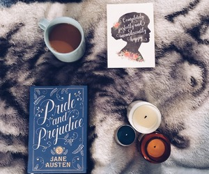 book, jane austen, and pride and prejudice image