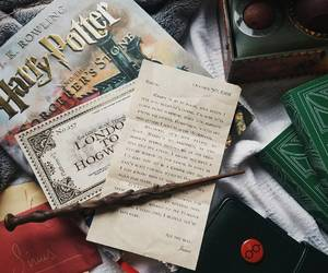books, harry potter, and Letter image