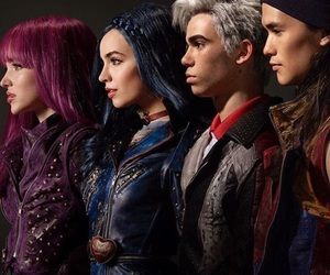 descendants, carlos, and disney image