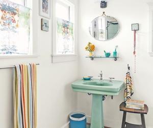 bathroom, farmhouse, and home decor image