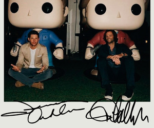 ackles, dean winchester, and jared padalecki image