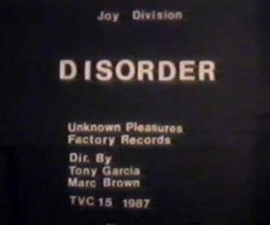 joy division, disorder, and theme image