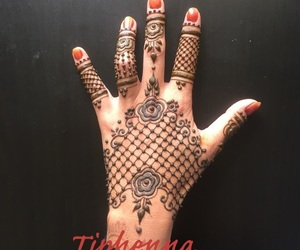 art, dessin, and henna image