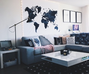 home, room decor, and interior image