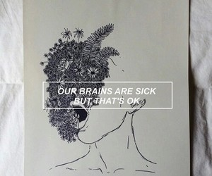 grunge, quotes, and sick image