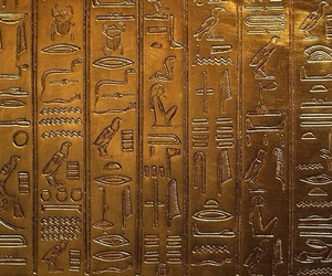 gold, egypt, and egyptian image