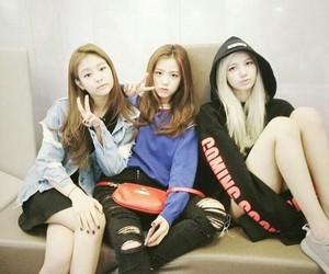 blackpink, lisa, and jennie image
